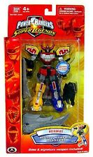 "Mighty Morphin Power Rangers Super Legends 6"" Megazord W Stand New Retofire 2009"