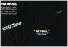 Coupure de presse Clipping 2006 (4 pages) Le Porte Avion Clemenceau remorqué