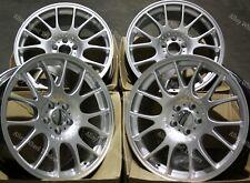 "18"" Silver CH Alloy Wheels Fits Audi A3 A4 A6 A8 Q3 Q5 TT 06> 5x112"