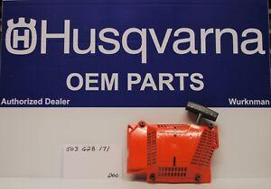 Genuine Husqvarna 503628171 Recoil Starter Fits 362 365 371 372 372XP 372XPW