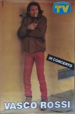 VASCO ROSSI POSTER *ORIGINALE ANNI 80* 70X100 CM