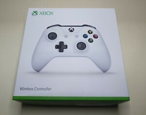 Microsoft Xbox One S 1708 White Wireless Controller. USED
