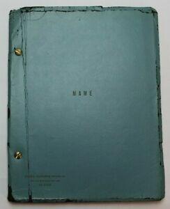 MAME / Jerry Herman 1966 Original Broadway Script, Angela Lansbury & Bea Arthur