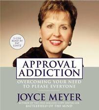 5 CD Set Approval Addiction Joyce Meyer Audiobook Audio Book New Sealed