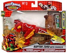 Power Rangers Dino Super Charge Raptor Zord with Charger