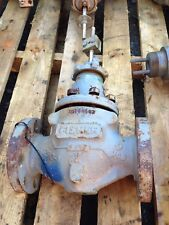 FISHER 2 INCH WCB STEEL CLASS 300 E TYPE CONTROL VALVE BODY
