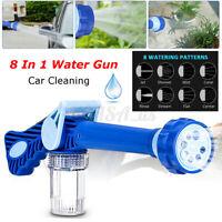 8 In 1 High Pressure Car Power Water Washer Gun Cleaning Foam Spra
