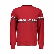 CMP Fleece Pullover Jumper Boy Sweat Red Breathable Elastic Warming