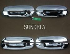 FAST Chrome Door Handle Cover Trim fit for GMC Envoy 2002 2003 2004 2005 2006