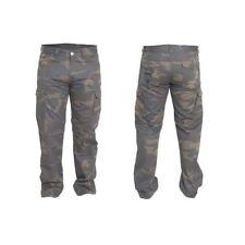 Pantalones de color principal marrón para motoristas