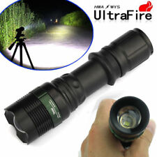Ultrafire 30000LM Zoomable XM-L T6 LED Flashlight 18650 Torch Tactical Camping