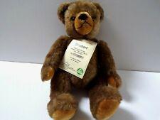 HERMANN WINIBERT Brown TEDDY BEAR Very Rare Ltd Edition 150 / 150 GOLD NO. PLATE