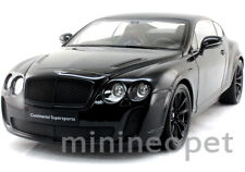 WELLY 18038 BENTLEY CONTINENTAL SUPERSPORTS COUPE 1/18 DIECAST BLACK