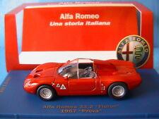 ALFA ROMEO 33.2 FLERON 1967 PROVA M4 1/43 EDITION LIMITEE 1998 PIECES ROSSO ROT