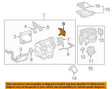 TOYOTA OEM Evaporator Heater-Servo 8710635120