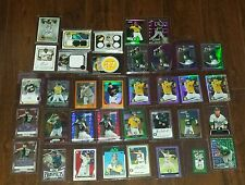 Oakland Athletics Special Lot of 36 incl Rookies Refr Autos Patch Cards Low #/