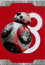 Star Wars Last Jedi Resist! [Silver] Chase Card R-4 BB-8 Astromech Droid