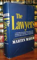 Mayer, Martin THE LAWYERS  1st Edition 1st Printing