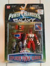 Saban's Power Rangers Lost Galaxy Conquering Red Ranger Ban Dai Action FigureMOC