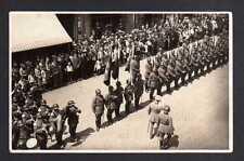 108755 AK Zittau original Fotokarte um 1935 Militär Apell Parade