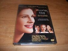 Mona Lisa Smile (DVD, 2004) Kirsten Dunst Julia Roberts Drama Movie NEW