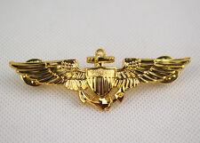 WWII us naval aviators wings metal Pin Badge