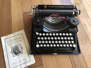 Underwood 1931 typewriter