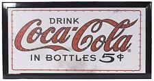 "Coke Coca Cola Officially Licensed 19"" Flashing LED Sign with Hang Chain"