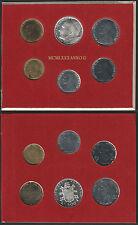 1980 Città del Vaticano Giovanni Paolo II divisionale 6 monete FDC