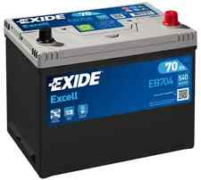 EB704 3 Year Warranty Exide Battery 70AH 540CCA W030SE Type 030