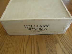Williams Sonoma Elevated Baking Gift Crate-DecoGun,Goldtouch Pan,Silpat Line-New