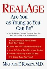 RealAge: Are You as Young as You Can Be? by Michael F. Roizen (1999, Hardcover)