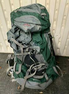 Osprey Aether 85 Green Gray Large Men's Hiking Backpack Camping Backpacking