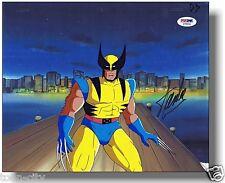 signed STAN LEE PSADNA Wolverine original PRODUCTION cel hand COA MARVEL painted
