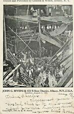 A View Of The John G. Myers & Co's Store Disaster, Albany NY 1905