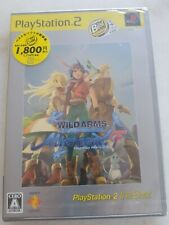 Wild Arms Alter Code F PS2 NTSC-J Brand New