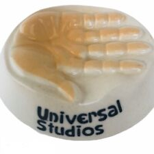 Vintage Universal Studio Souvenier Ceramic Chewing Gum Saver 3x2.7 inches