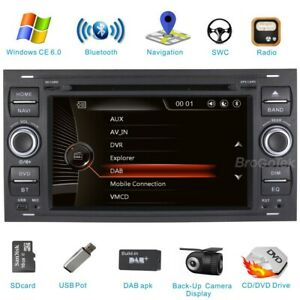 Ford Focus Transit Galaxy Kuga 2008-2011 Car DVD Radio DAB+ Bluetooth GPS Stereo