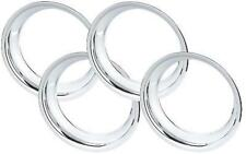 "C3 1968 - 1982 Corvette 14"" 15"" 16"" 17"" Chrome ABS Plastic Wheel Trim Rings"