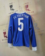 Trikot erima FC Treptow BERLIN Nr. 5  W. Germany Shirt 90er True Vintage soccer
