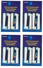 16 Aufsteckbrsten für Oral-B Precision Clean - Ersatzbürsten SB-17A