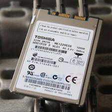 "1.8"" Toshiba MK1229GSG 120GB 8mm Micro SATA For Notebook Hard Drive Disk Hdd NEW"