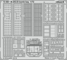 Eduard 1/72 North-American B-25C/D Mitchell Bomb Bay # 72667