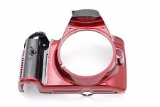 Nikon D3200 Front Cover Assembly Repair Part NO NAME PLATE NO RUBBER - RED