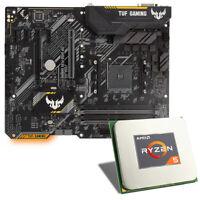 Bundle Mainboard CPU Kombination, AMD Ryzen 5 2600, ASUS TUF B450-PLUS Gaming