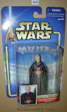 Star Wars 2002 SUPREME CHANCELLOR PALPATINE MOC