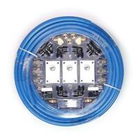 Garage Shop Compressed Air Line Kit Rapid Fit Complete System 100 ft. 1/2 New