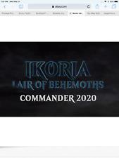 Commander 2020 Ikoria SET Of All 5 different MTG Magic Decks Box Sealed