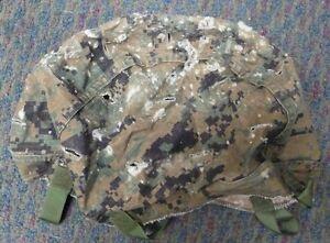 USMC REVERSIBLE HELMET COVER MARPAT WOODLAND / DESERT XSMALL SMALL MEDIUM LARGE