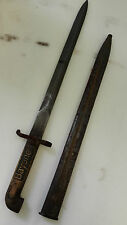 WW1 Antique Collectalbe Swedish Military Bayonet M1914